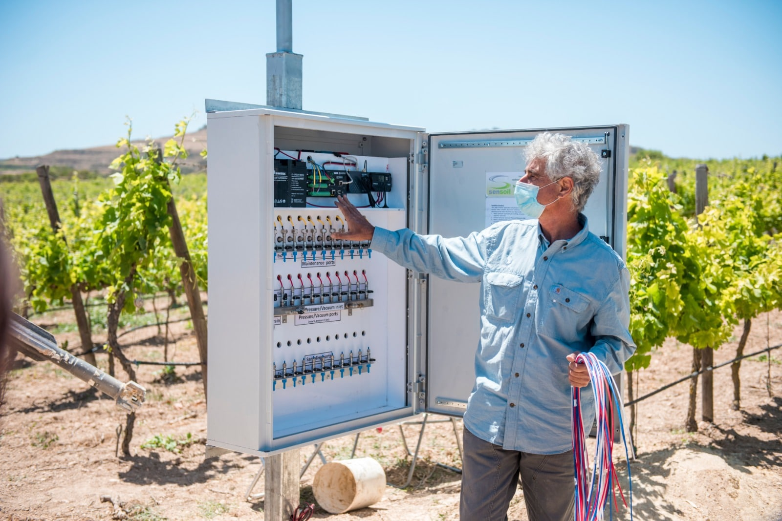 Nationwide monitoring system to safeguard groundwater quality