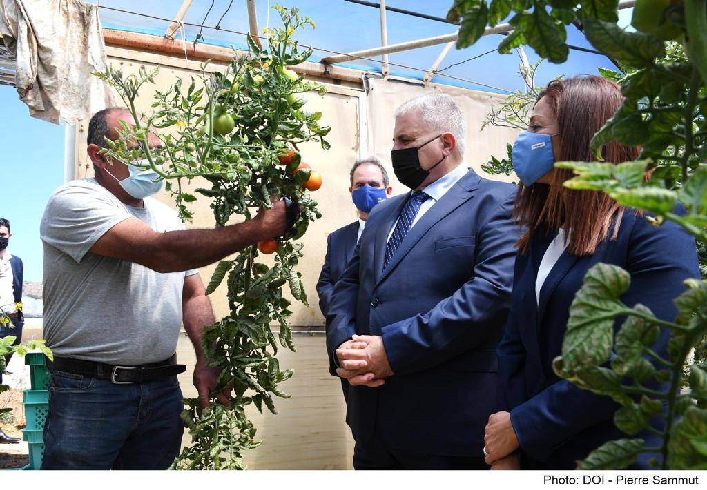 €750,000 Investment for Water Conservation in Agriculture