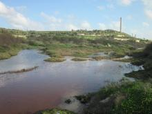 Restoration of one of the coastal wetlands